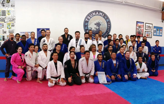 Tsunami Brazilian Jiu-jitsu group