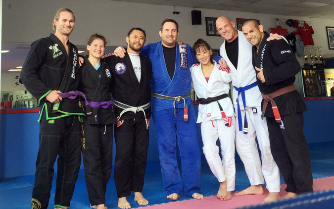 Tsunami Brazilian Jiu-jitsu after training